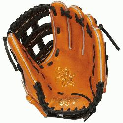 t of the Hide baseball glove from Rawlings features a PRO H
