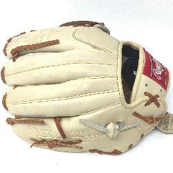 >Rawlings Heart of the Hide Camel leather and brown lac