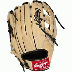 "Hide 12.75"" baseball glove features a the PRO H Web pattern w"