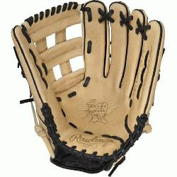 "s Heart of the Hide 12.75"" baseball glove features a the PRO H Web pattern which was de"