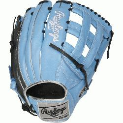 75-Inch Heart of the Hide ColorSync outfield glove is constructed from u