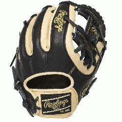 25-inch Heart of the Hide infield glove provides balanced performance from p