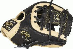 1. 25-inch Heart of the Hide infield glove provides balanced p