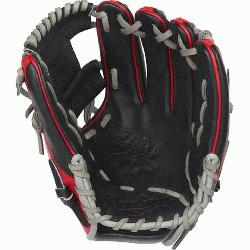 de; web is typically used in middle infielder gloves Infield glove 60% player break-in
