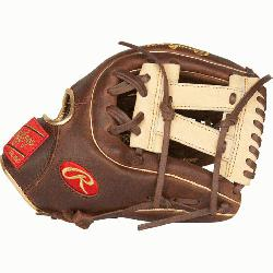 structed from Rawlings' world-renowned Heart of the Hide® steer hide leather Heart of