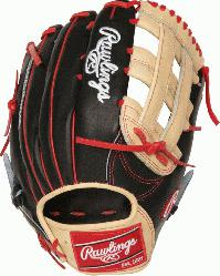 the Hide Bryce Harper Gameday pattern baseball glove. 13 inch Pro H Web and conventional back.