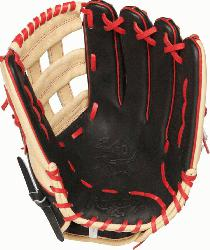 the Hide Bryce Harper Gameday pattern baseball glove. 13 inch Pro H Web and co