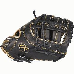 cted from Rawlings' world-renowned Heart of the Hide® steer hide leather Hear