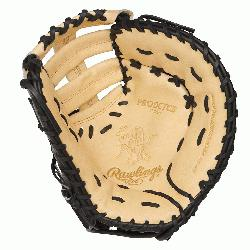 Rawlings 13-inch Heart of the Hide first base glove is perfect for high caliber