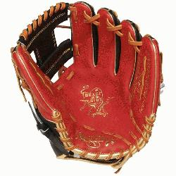 cted from Rawlings' world-renowned Heart of the Hide® steer hide leather Heart of th