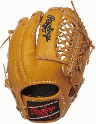 Constructed from Rawlings' world-renowned Heart of the Hide® steer hide l