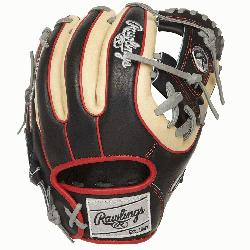 e 11. 5-inch Heart of the Hide R2G infield glove provides the serious