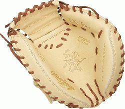ld-renowned Heart of the Hide ultra-premium steer-hide leather this Rawlings Salvador Perez