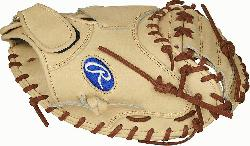 renowned Heart of the Hide ultra-premium steer-hide leather this Rawlings Salvador Perez glo