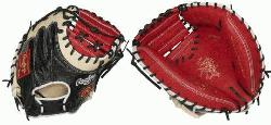 Heart of the Hide ColorSync 34-Inch catchers mitt provides an unmatched look and