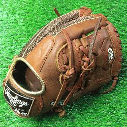 Rawlings Heart of Hide PRO205-9TIM 11.75 inch Brown mesh back 2 piece web.</p>