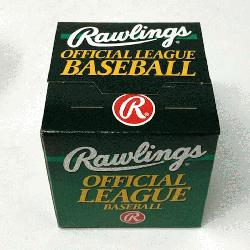 ngs Official World Series Baseball 1 Each. One ball in box.</p>