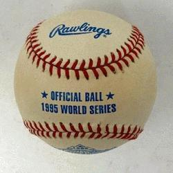 wlings Official World Series Baseball 1 Each. One ball in box.</p>