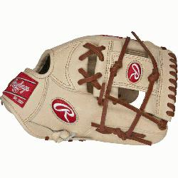 "11 3/4"" baseball gloves from Rawlings features the PRO I Web pattern which is desired by"