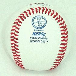 Official Baseballs with KSHSAA Kansas Baseball NFHS stamp. </p>