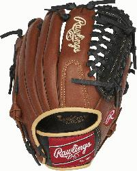 Sandlot Series gloves feature an oiled pull-up leather that