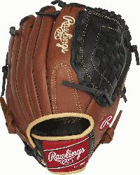 Sandlot Series gloves feature an oiled pull-up leather th