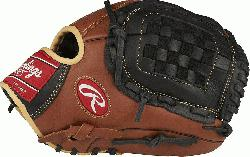 he Sandlot Series gloves feature an oiled pull-up leather that gives the models a