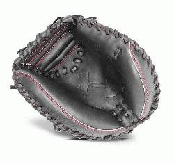 Youth Catchers Glove Conventional Open Back. Wide Deep Pocket. Vertically L