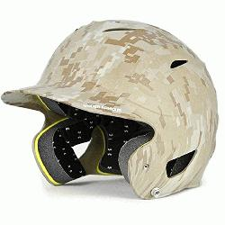 ur Youth Batting Helmet Matte Finish Camo  Unde