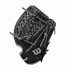 Wilson A1000 glove is made with a Pro laced
