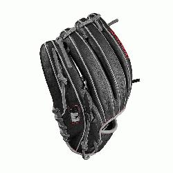 he 11.5 Wilson A1000 glove is made with a Pro laced