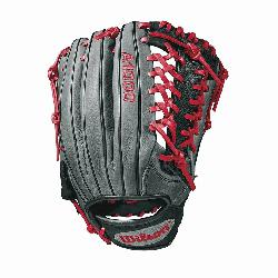 Wilson A1000 glove is made with the same innovation that