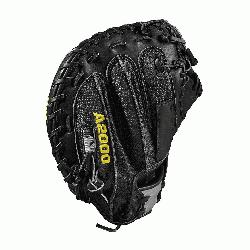 3.5 catcher model half moon web Thumb Protector Black SuperSkin -- twice