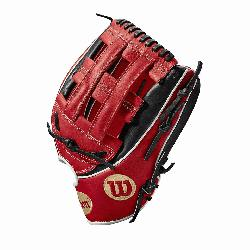 b - game WTA2KRB18MB50GM for Mookie bets Red black and White Pro Stock Select leather chosen for