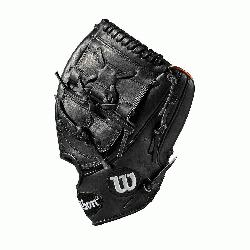 er model; 2-piece web; available in right- and left-hand Throw Black SuperSkin twice