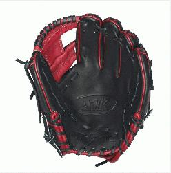 DP15 Red Accents - 11.5 Wilson A1K DP15 Red Accents Infield Baseball Glove A