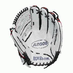 .25 pitchers glove 2-piece web Black SuperSkin twice as strong as regular l