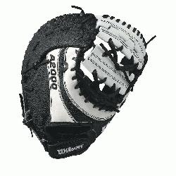 00 BM12 SS fastpitch first base mitt was designed with a single heel-break al