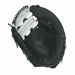 00 BM12 SS fastpitch first base mitt was designed with a single heel-break allowing for a th