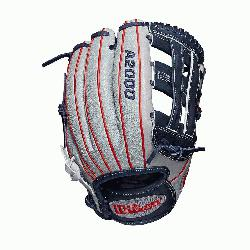 ld glove Dual post web Grey SuperSkin