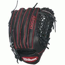 and red A2000 GG47 GM Baseball Glove fits Gio Gonzalezs style