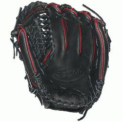 he black and red A2000 GG47 GM Baseball Glove fits Gio Gonzalezs st
