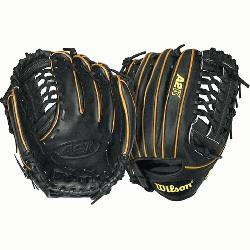 A2K BB4 CJW Pitcher Baseball Glove Black Tan