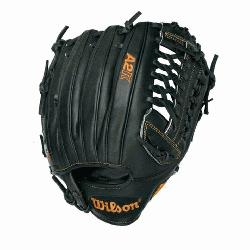 A2K BB4 CJW Pitcher Baseball Glove Black Tan 12 in Right Handed Thro