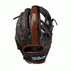 Infield model; H-Web Black SuperSkin twice as strong as regular leather
