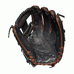 field model; H-Web Black SuperSkin twice as strong as regular leather but half