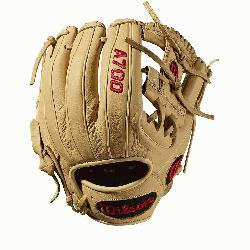 ch Baseball glove H-Web design Blonde Full-Grain leather. The all-new A700 line of Wi