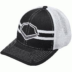 ester42% Cotton2% SPANDEX Imported Flex-fit style trucker hat Breathable White