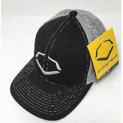 /42% Cotton/2% SPANDEX Imported Flex-fit trucker hat Embroidered logo on front Breat