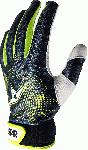 all star adult full palm baseball catchers inner protective glove adult x large